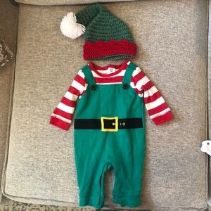 Baby Boy Elf Outfit